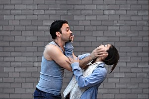 Maria's Circular Dance: actors, Eric Aviles and Carmen Garcia