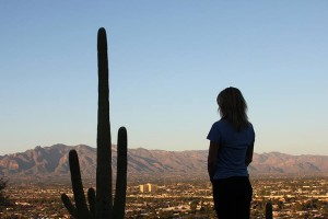 I Stand with Saguaros - Picture