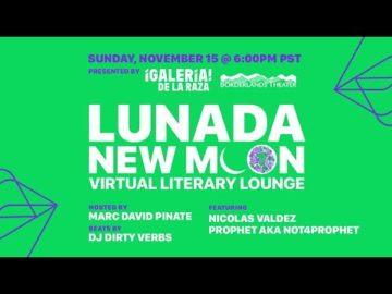 Lunada Literary Lounge - November 2020